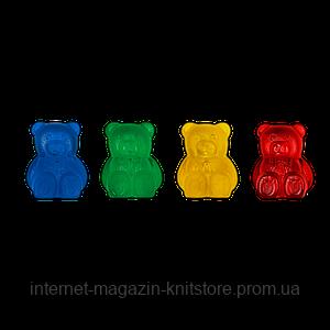 Фіксатори для спиць у формі ведмедиків Addi Teddy Bear