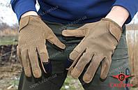 Тактические сенсорные перчатки Dark Coyote. Mil-tec (Германия)