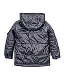 Детская куртка на мальчика 1-5 лет весна-осень (серая), фото 2