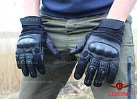 Перчатки тактические c кастетом Mil-Tec Gen. II Black 12504402