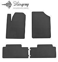 Комплект резиновых ковриков Stingray для автомобиля  Citroen Berlingo 1999-2008    4шт.