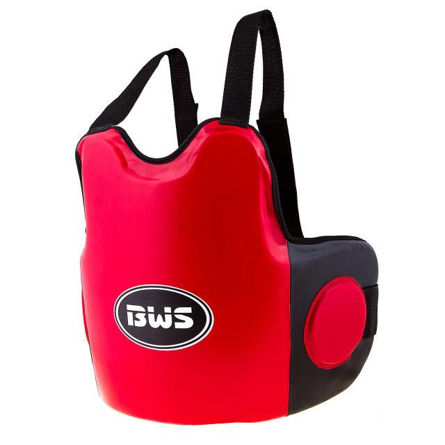 Защита на грудь мужская BWS DX красно-черная. Распродажа! Оптом и в розницу!