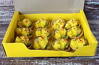 Набор цыплят в гнезде со скорлупой, 12 шт/уп, оптом