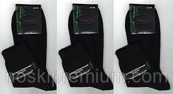 Шкарпетки чоловічі бамбук з сіткою Монтекс, Туреччина, без шва, 41-44 розмір, середні, чорні, 699