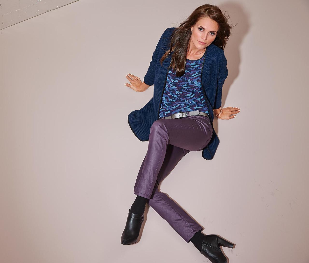 Моднявые джинсы с блеском «Slim Fit» р.42, 44,46,48,50,52 от ТСМ Tchibo Германия