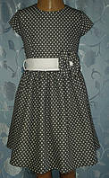 Платье трикотажное детское, без подкладки