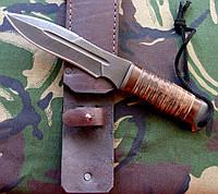 """Нож ручного изготовления """"Каратель-М2"""". Авторской работы, мастер Малёваный Сергей."""
