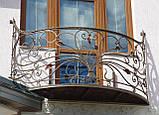 Кованые ограждения балконов, террас, фото 2