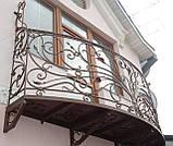 Кованые ограждения балконов, террас, фото 3