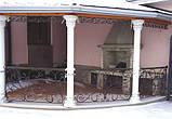 Кованые ограждения балконов, террас, фото 4