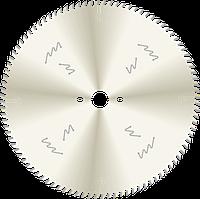 Пила D350B3,5b2,5d30z72 торцовочная с чистым резом для багета и окутанных профилей. Корпус с никелевым покрытием. GDA Италия