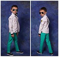 Джинсы цветные на мальчика и на девочку №824 е.в