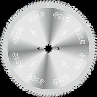 Пила D350B3,5b2,5d30z108 для форматного раскроя ламинированного ДСП и других плитных материалов на станки без подрезного узла GDA Италия
