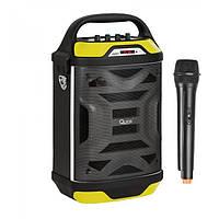 Портативная акустика с радиомикрофоном QUER-0875 - 40W (USB/FM/Bluetooth)