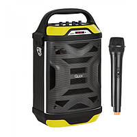Бумбокс акустика с радиомикрофоном QUER-0875 - 40W (USB/FM/Bluetooth)