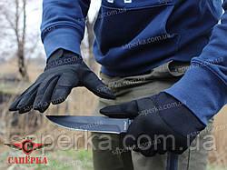 Тактические перчатки армейские черные (Mil-Tec) Германия, фото 2