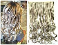 Волосы на заколках затылочная прядь волна №8/613