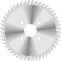 Пила D200B5,0/6,2b3,5d65z36 подрезная коническая однокорпусная GDA Италия