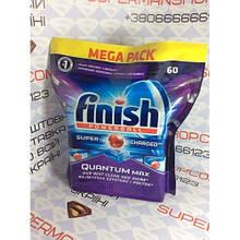 Таблетки для посудомоечных машин Finish Powerball Supercharged Quantum 60 шт