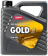 Моторне масло TEBOIL GOLD S 5w40 4л