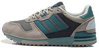 Женские кроссовки Adidas ZX700 Originals Aqua Grey (aдидас ZX) серые