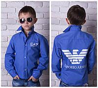 Стильная рубашка Armani на мальчика № 828 е.в