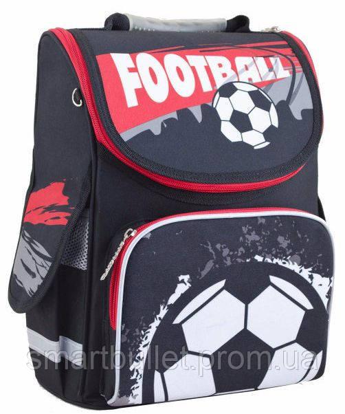 c48583f14b77 Детский школьный ранец с ортопедической спинкой 1 Вересня Smart PG-11  Football 553432 идеально подойдет ученику начальной школы. Отличный дизайн  и яркая, ...