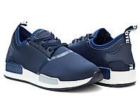 Темно-синие женские кроссовки