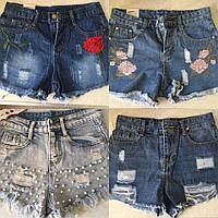 Шорты, ткань-джинс