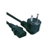 Кабель силовой Cablexpert PC-186-15, черный, 4.5 м