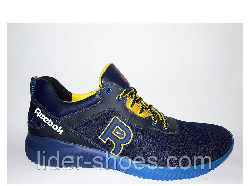 Мужские кроссовки в стиле Reebok сетка