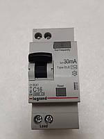 Дифференциальные автомат Legrand RX 1П+Н С 16А 30mA-AC