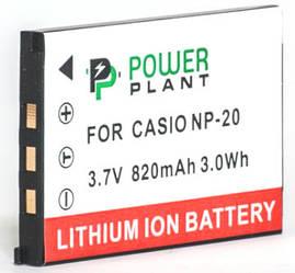 Аккумулятор PowerPlant Casio NP-20