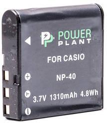 Аккумулятор PowerPlant Casio NP-40
