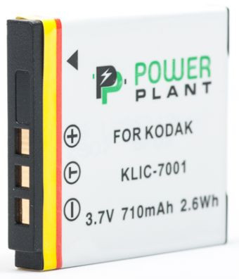 Аккумулятор PowerPlant Kodak KLIC-7001