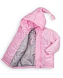 """Детская куртка """"Гномик"""" весна-осень на девочку 1-5 лет (розовая), фото 3"""