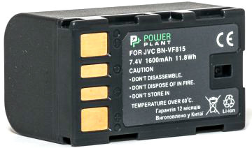 Аккумулятор PowerPlant JVC BN-VF815