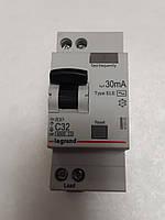 Дифференциальные автомат Legrand RX 1П+Н С 32А 30mA-AC