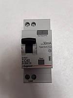Дифференциальные автомат Legrand RX 1П+Н С 40А 30mA-AC