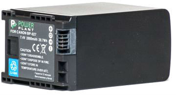 Аккумулятор PowerPlant Canon BP-827 Chip