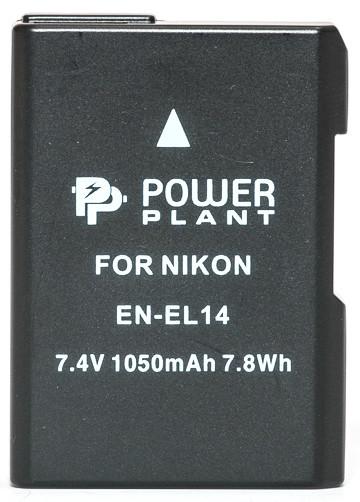 Аккумулятор PowerPlant Nikon EN-EL14 Chip (D3100, D3200, D5100)