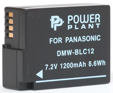 Аккумулятор PowerPlant Panasonic DMW-BLC12, DMW-GH2