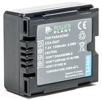 Аккумулятор PowerPlant Panasonic VW-VBD070, CGA-DU07