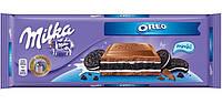 Молочный шоколад Milka Oreo , 300 гр