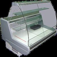 Витрина холодильная кондитерская с плоским стеклом Siena-К-0,9-1,2 ПС