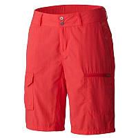Женские шорты Columbia SILVER RIDGE™ CARGO SHORT ярко-красные AL4596 653