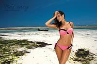 Раздельный розовый, женский купальник балконет Marko