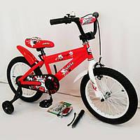 """Велосипед детский двухколесный 16"""" N-300 Красный"""