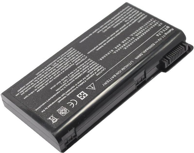 Аккумулятор PowerPlant для ноутбуков MSI A6200 (BTY-L74, MSYL74LH) 11,1V 5200mAh