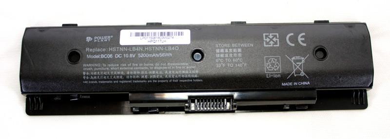 Аккумулятор PowerPlant для ноутбуков HP ENVY 15 Series (HSTNN-LB4N) 10.8V 5200mAh
